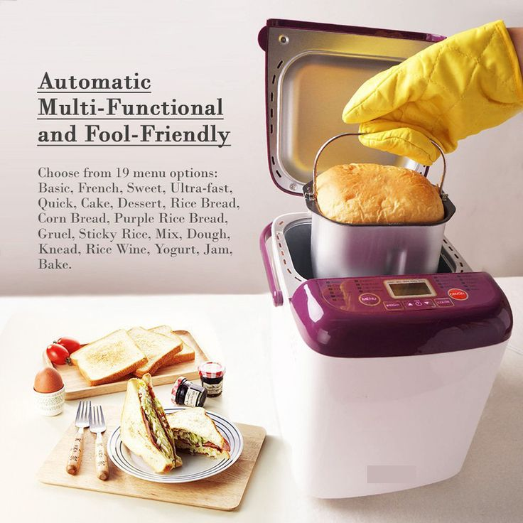 breadman bread machine recipes & instruction manual