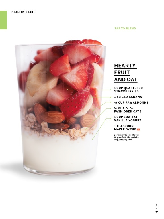 Fruit and oat smoothie--perfect for the magic bullet