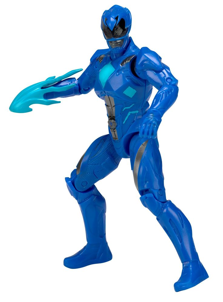 Power Rangers Mighty Morphin Movie 5-inch Blue Ranger Action Figure. The Power Rangers Movie Action Heroes are tougher and stronger than ever, and ready for action as highly detailed 5 inch action figures. Each figure is highly detailed with multiple points of articulation for excellent poseability; highly poseable. Kids and collectors alike can play or display their favorite Power Rangers figure to recreate scenes where good always prevails over evil. Collect them all; each sold separately.