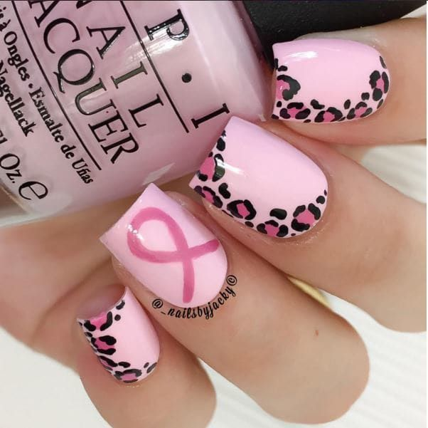 Oktober ist Brustkrebs-Bewusstseins-Monat! Wischen Sie Ihren hübschen rosa Lack ab!   – nails