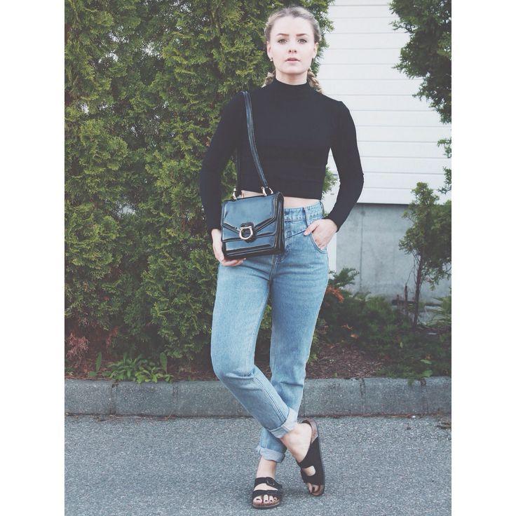 Celine vintage bag, bianco sandals, river Island pants