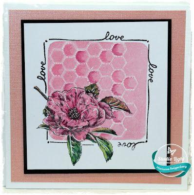 Studio Light: Sweet Romance Stempels