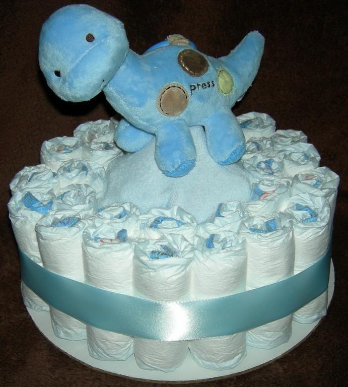 ... Tier Baby Boy Diaper Cake from Premier Diaper Cakes in Ocala, FL