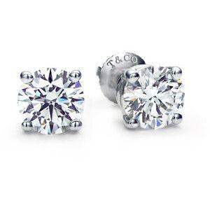 The Tiffany Diamond Studs - Every girl needs a pair    Tiffany & Co. | Category | Tiffany Diamonds | Solitaire Studs and Pendants