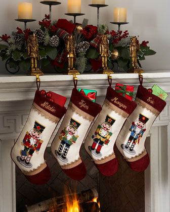 Needlepoint Nutcracker Christmas Stockings http://rstyle.me/n/d2ketq7cw