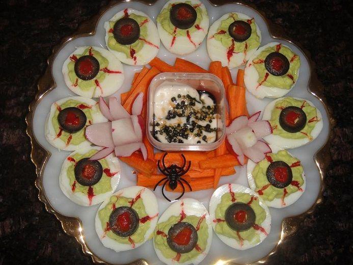 Best 25+ Halloween deviled eggs ideas on Pinterest ...
