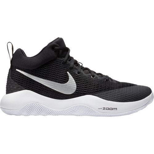 Nike Men\u0027s Zoom Rev TB Basketball Shoes (Black/White, Size 14) - Men\u0027s  Basketball Shoes at Academy Sports