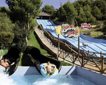 Water slides in Alicante