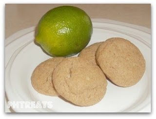 ... Heavenly Treats: Chewy Coconut Lime Sugar Cookies (Whole Wheat