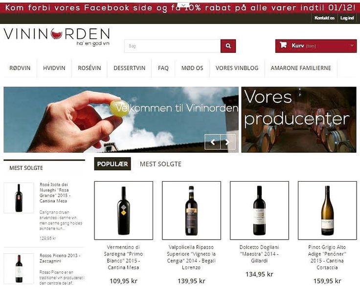 Har I besøgt vores nye online vinhandel? Italienske kvalitetsvine er blot et par klik væk #kvalitetsvin #rødvin #hvidvin #hygge #godvin #madogvin #italiensk #vinsmagning #vinbar #aarhus #københavn #italy #denmark #vininorden #vinhandel #vinbutik #vinblog #tw #pin #winestyle #winetasting #vindruer #amarone #merlot #cannonau #verdicchio