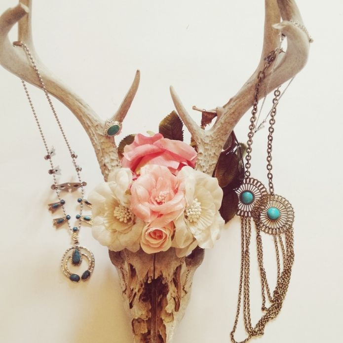 antlers jewelry holder