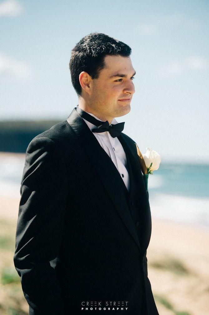 Mona Vale Beach Wedding - Groom