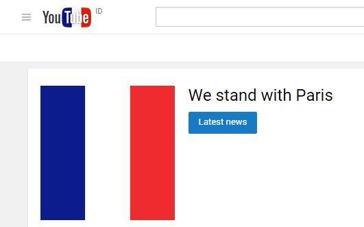 Youtube Turut Berbela Sungkawa atas Insiden di Paris