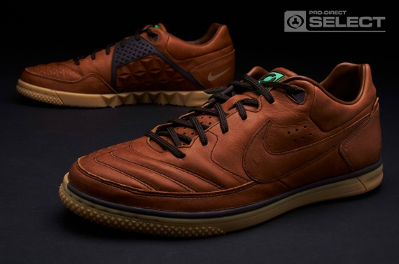 Nike5 Streetgato Premium - Mens Football Boots - Brkrt Brown/Brkrt/Dark Drftw