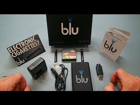 Original Blu Cig Starter Kit Review http://www.darthvaporreviews.com