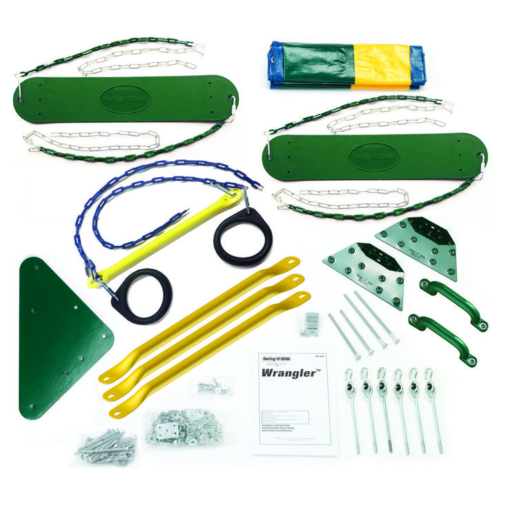 Wrangler Swing Set Kit Swing set kits, Swing set