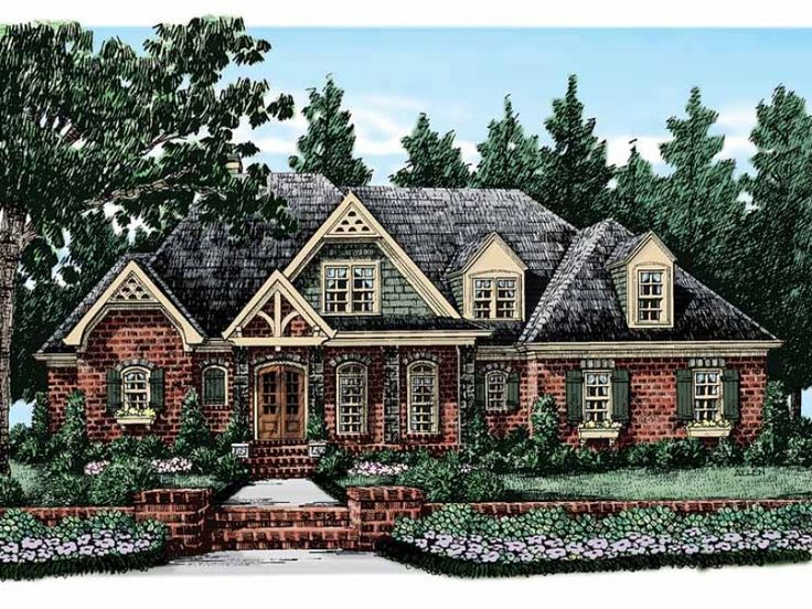 superb 4000 square foot homes #8: Cottage House Plan with 4107 Square Feet and 5 Bedrooms from Dream Home  Source   House