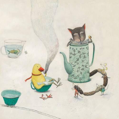 Teatime by Martina Ljubic
