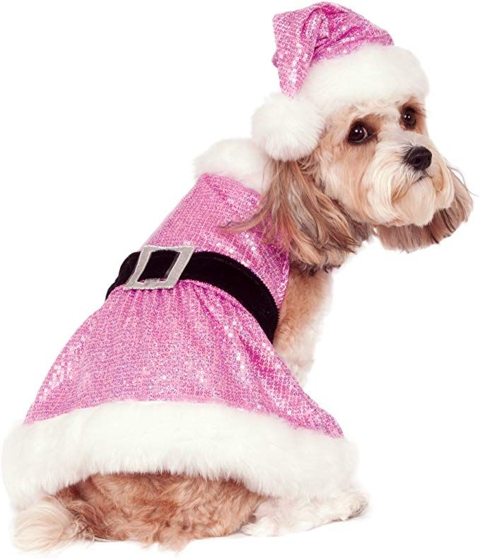 Rubie S Sequin Mrs Claus Pet Costume Review Pet Costumes Dog