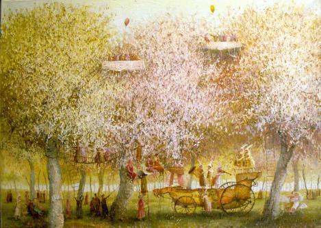 white concert : Oil on canvas - Remigijus Januskevicius