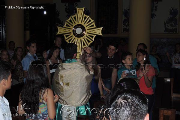 Semana do Cerco de Jericó na Catedral Diocesana - http://projac.com.br/noticias/semana-cerco-de-jerico-na-catedral-diocesana.html