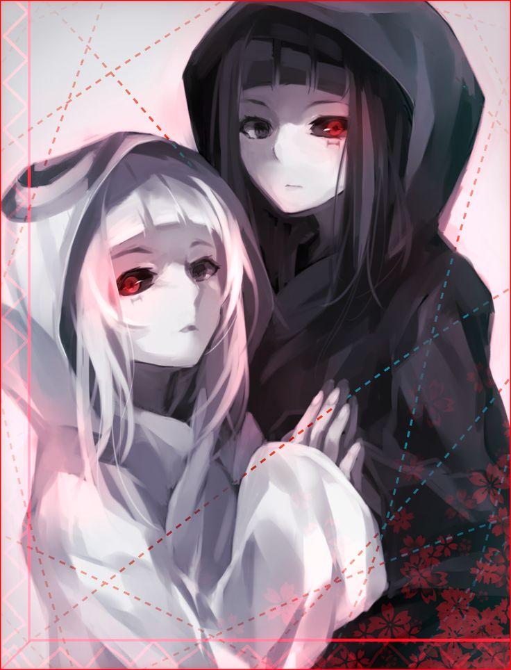 Tokyo Ghoul - Shiro & Kuro