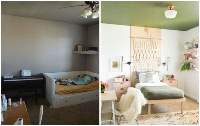 Átalakított hálószobák felújítás előtt és után – Hihetetlen átalakulások!