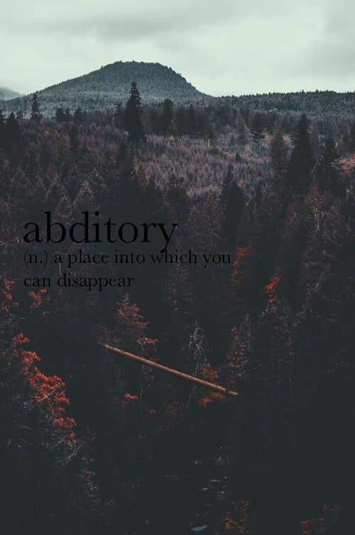 Abditory Definition | #wordsanddefinitions