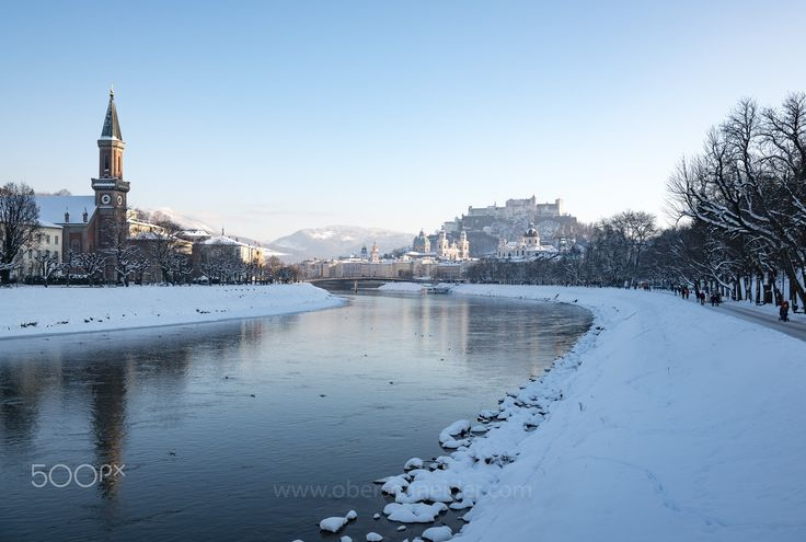 "Winter in Salzburg, Austria #2 - The city of Salzburg, Austria on a beautiful winter day.  Order prints of my images online, shipping worldwide via  <a href=""http://www.pixopolitan.net/photographers/oberschneider-christoph-a6030.html"">Pixopolitan</a> See more of my work here:  <a href=""http://www.oberschneider.com"">www.oberschneider.com</a>  Facebook: <a href=""http://www.facebook.com/Christoph.Oberschneider.Photography"">Christoph Oberschneider Photography</a> follow me on <a…"