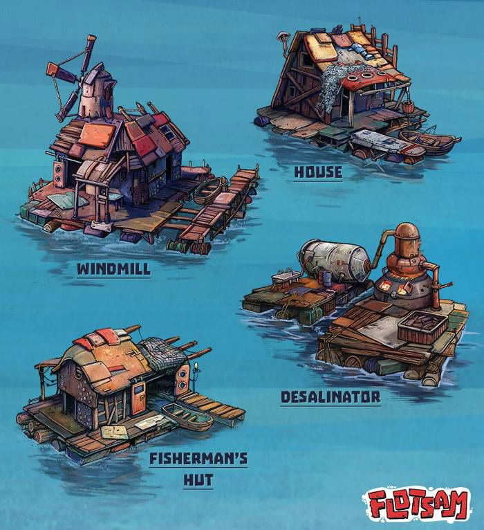 Flotsam Is A Water Based Survival Town Builder - Google'da ...
