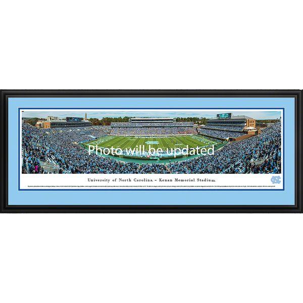 "North Carolina Tar Heels 44"" x 18"" Football Deluxe Framed Panoramic - $199.99"