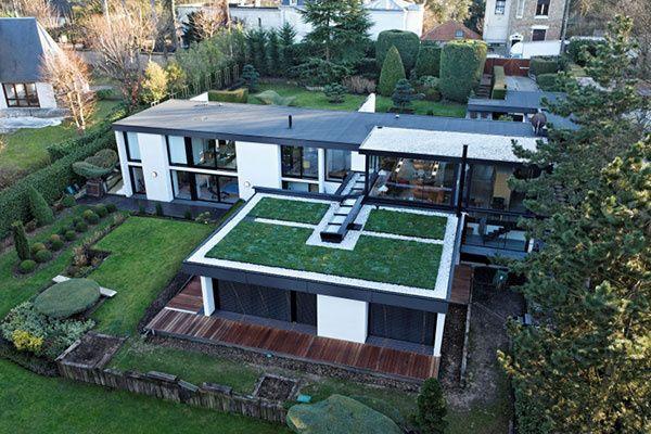 Zelené strechy zlepšia celkovú