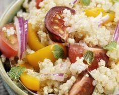 Taboulé de quinoa aux figues : http://www.fourchette-et-bikini.fr/recettes/recettes-minceur/taboule-de-quinoa-aux-figues.html