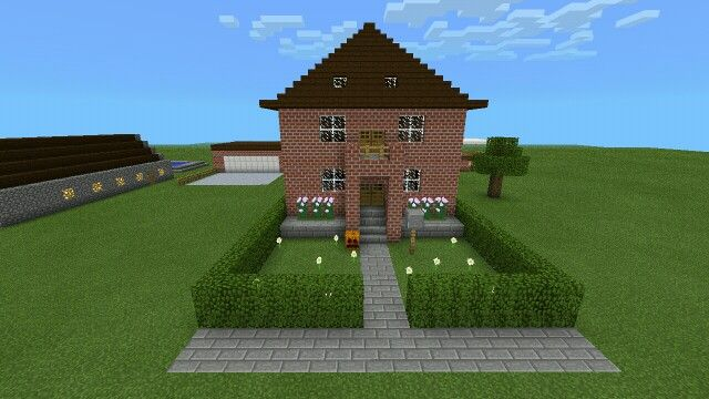 how to build a christmas house in minecraft pe