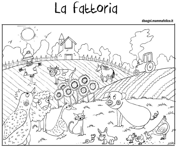 21 best disegni da colorare di mammafelice images on for Piani di fattoria di campagna francese