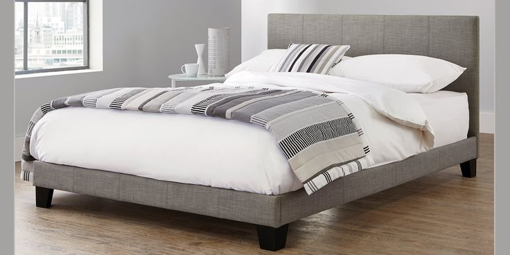 Best Buy Bianco King Bed Simple Contemporary Silver From The 400 x 300