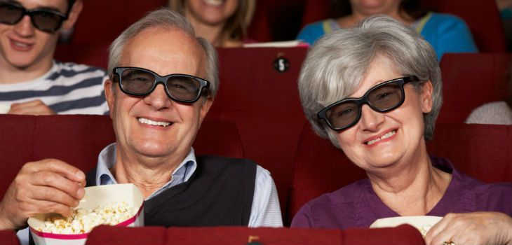 Regal Cinemas (Clarks Pond) cuts ticket prices for people at least 60 years old by a whopping 35 percent.