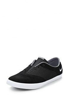 Кеды Nike, цвет: черный. Артикул: NI464AWBXH82. Женская обувь