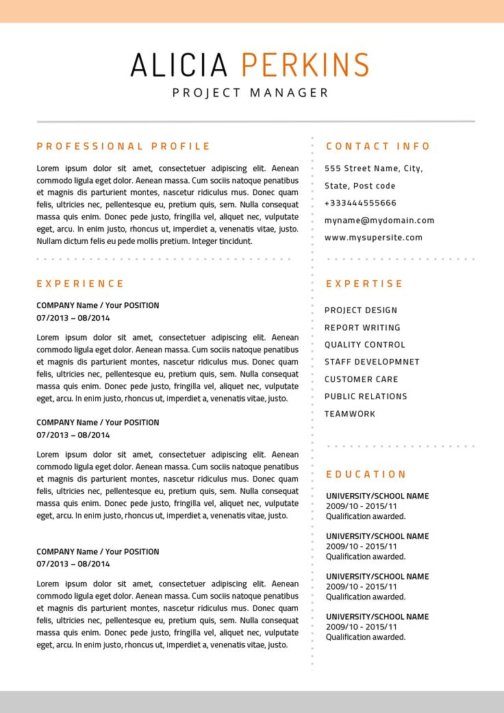 Pin by Seb Powell on Resume designs Resume templates
