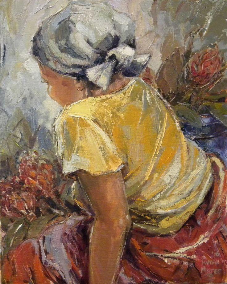 Aviva Maree. The Flower Seller