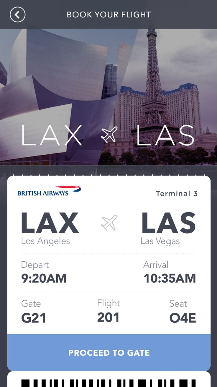 British Airways Booking #ui #app