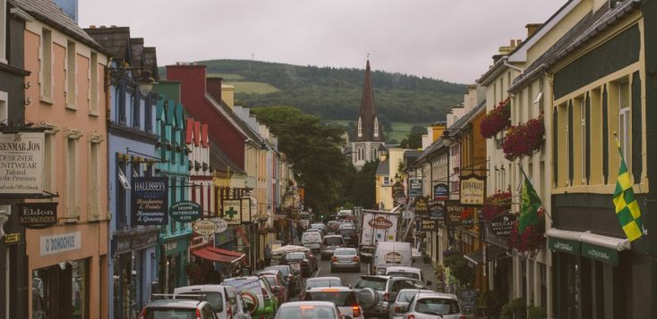 Kenmare, Ireland -- holiday town in the southwest of Ireland