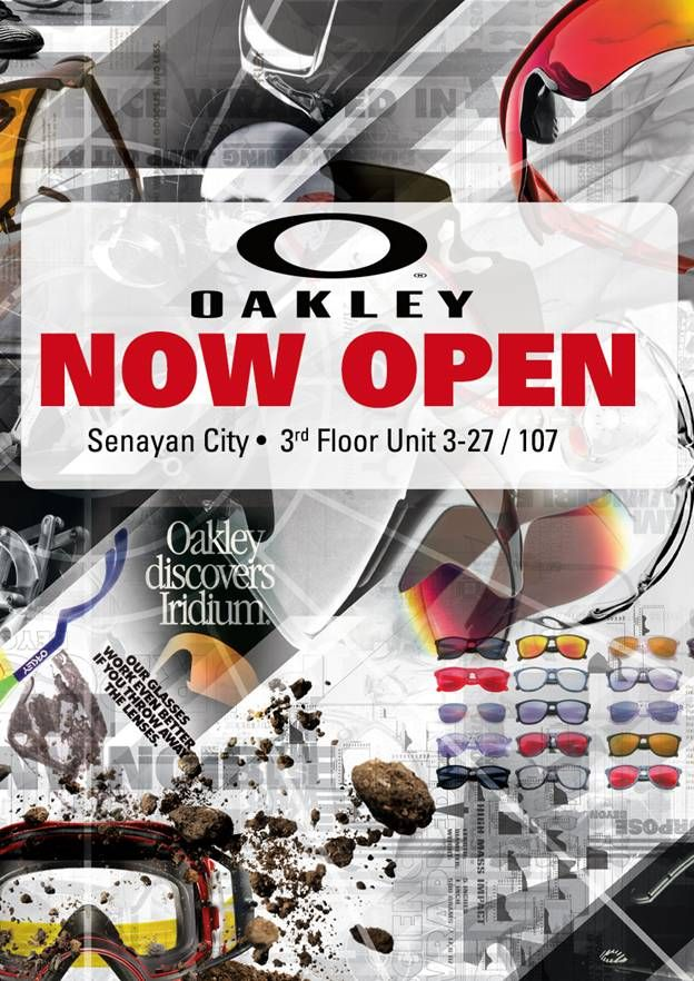 OAKLEY has open its doors at Senayan City!