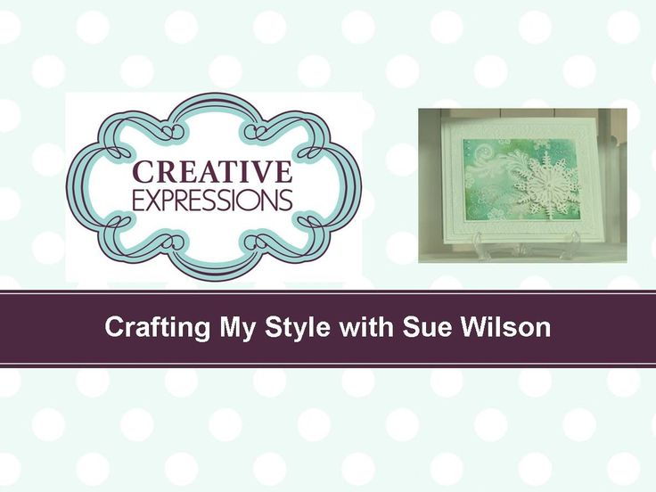 Craft Dies by Sue Wilson -- Tutorial Video -  Beaded Snowflake Card for ...