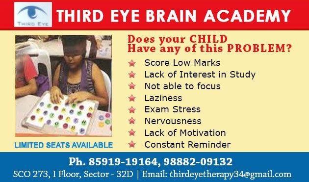 THIRD EYE BRAIN ACADEMY IN CHANDIGARH, SCO -273, Ist Floor, Sector-32D, Chandigarh, 08591919164