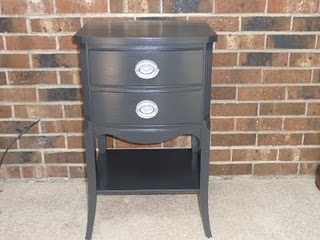 refurbished night stand...awesome!
