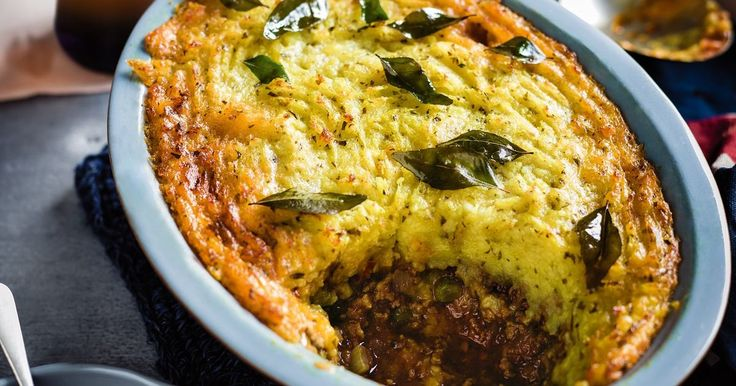 This curry-spice shepherd's pie is a perfect example of how Britain has absorbed different foods and cultures into its own cuisine.