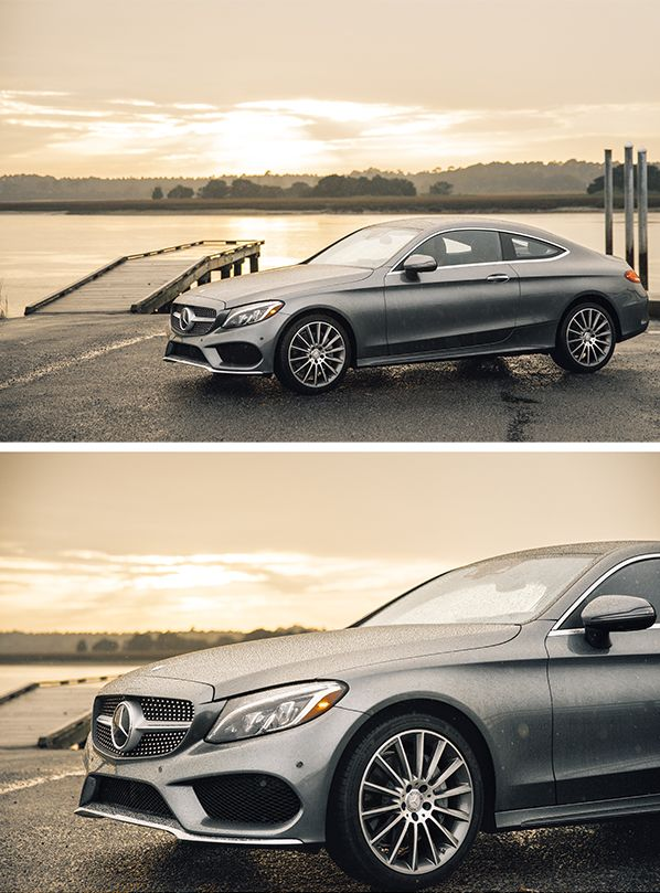 The Mercedes-Benz C-Class Coupé cuts a fine figure on the road. Photos by Steven Sampang (www.stevensampang.com) for #MBphotopass via @mercedesbenzusa