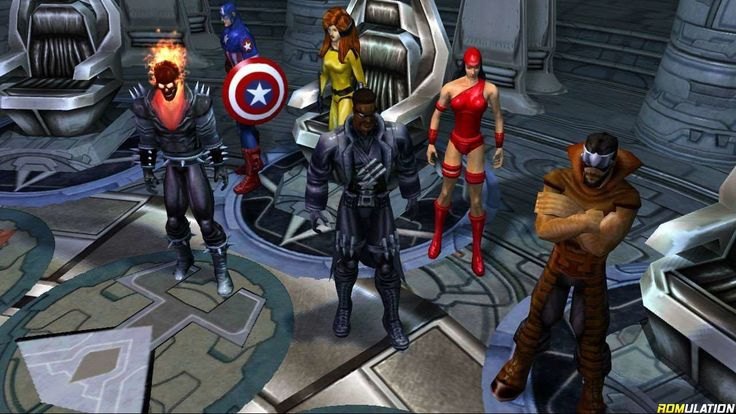 Marvel ultimate alliance 2 usa