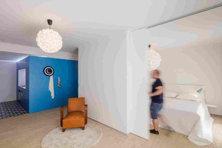 Реконструкция маленькой квартиры в Португалии